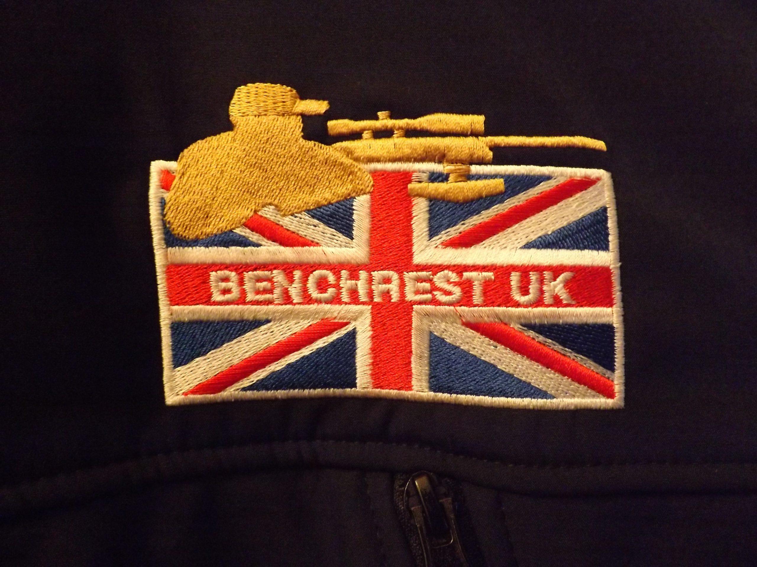BENCHREST UK SOFT SHELL WATERPROOF BREATHABLE WINDPROOF BLUE JACKET